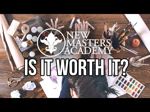 IS IT WORTH IT? New Masters Academy | Cyber Monday Sale #art #howtodraw #howtopaint