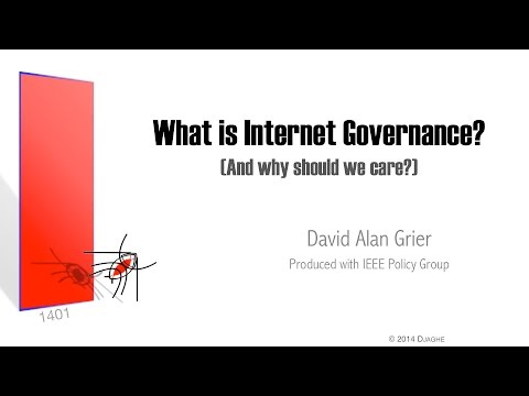 What Is Internet Governance? (and why should we care?)