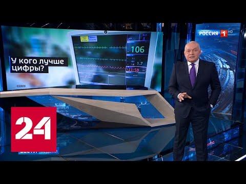 Статистика смертности: в Америке много фейков, а России стесняться нечего - Россия 24