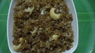 Soaked Beaten Rice Jaggery Recipe - Aval Kuthirthatu - Festival Recipe