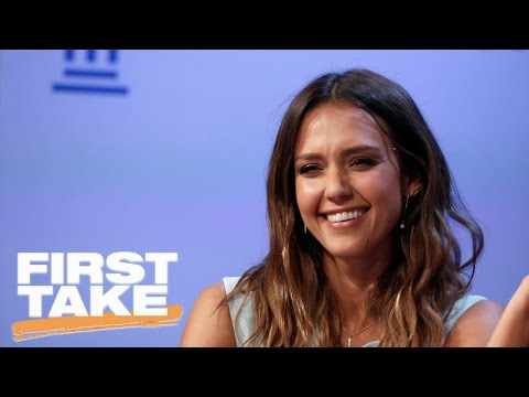 Jessica Alba Full Interview On First Take | First Take | April 5, 2017