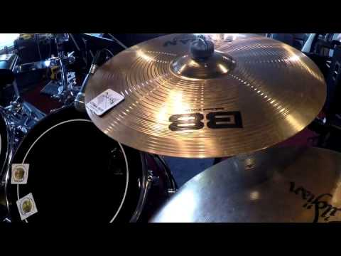 How to lower volume of Cymbals for practicing at home.