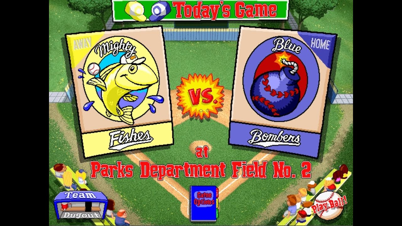 Let's Play Backyard Baseball 1997 Season Game 1 Mighty