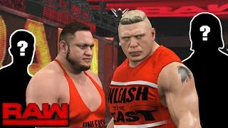WWE RAW 2K17 Story - Brock Lesnar Forms Beast Unlimited    RAW 2017 Wrestling Story