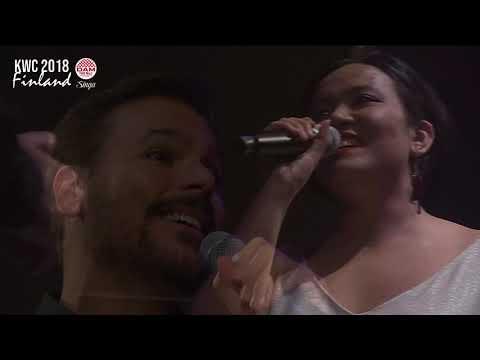 KWC 2018   Carol Naemi & Eduardo Torres Brazil   Duets final - When You Believe