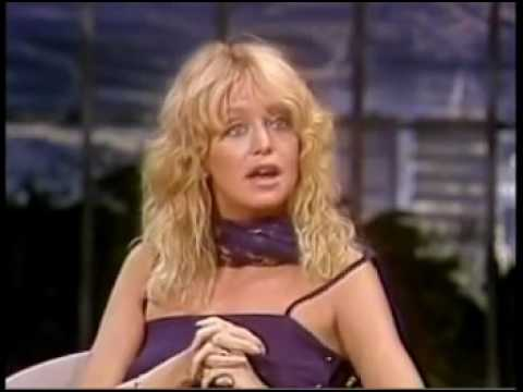 JOHNNY CARSON INTERVIEW GOLDIE HAWN