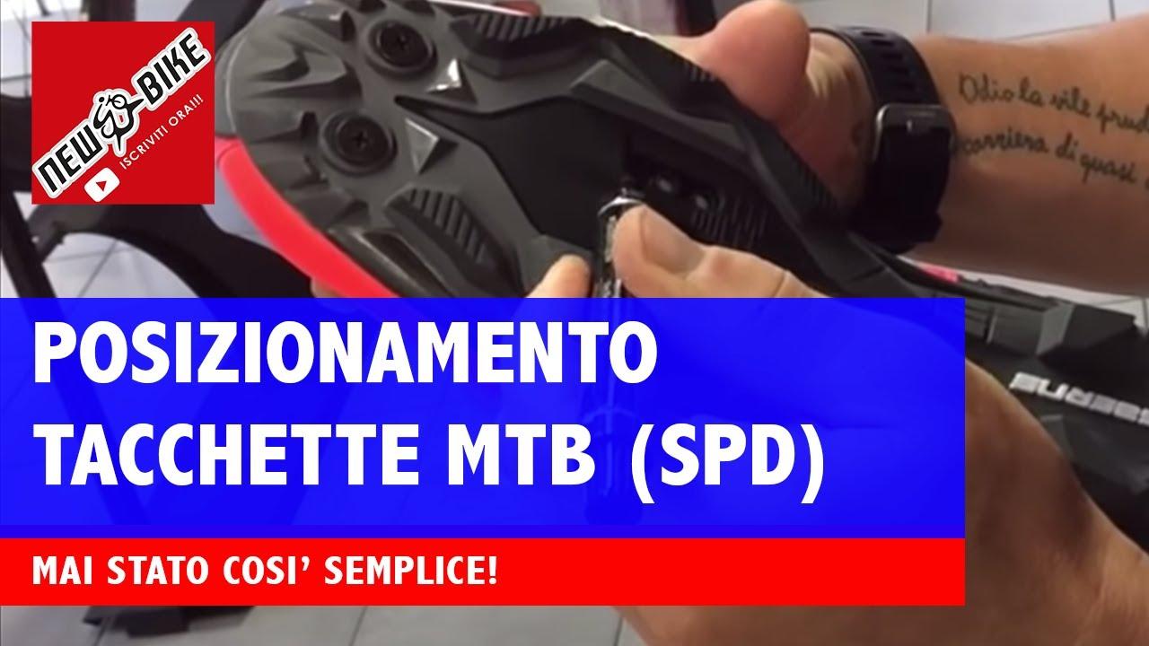 best authentic 6d06a 17874 Come posizionare le tacchette delle scarpe da MTB?