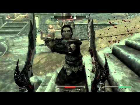 [Skyrim Mod Test] The Dance Of Death - Gameplay HD