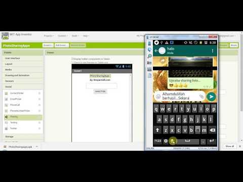 Tutorial Bikin Aplikasi Android Kurang Dari 15 Menit di App Inventor 2