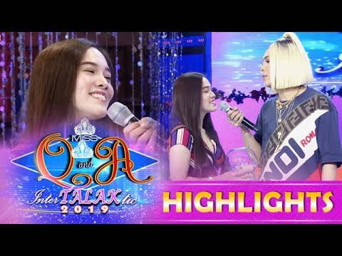 It's Showtime Miss Q and A: Ate Girl Jackque impersonates Moira