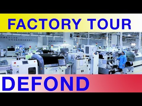 Factory Tours of Shenzhen - Defond