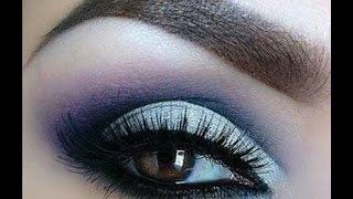 ❀♡Летний макияж в синих тонах/Синий макияж❀♡