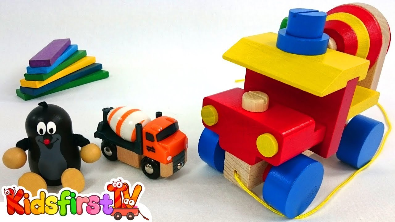 Games for kids with wooden toys Videos for kids