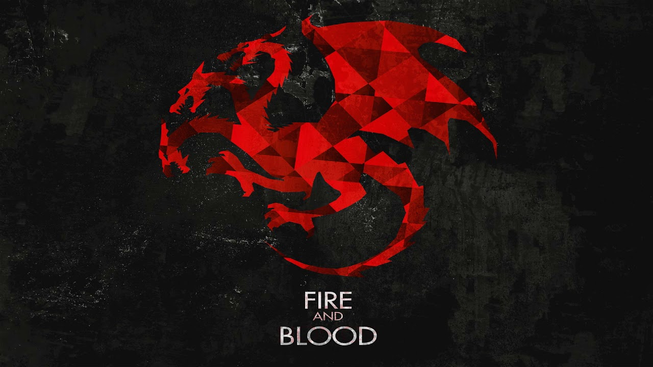 House Targaryen U0026 Dragons (S1 S7)   Game Of Thrones