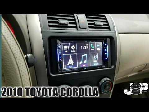 2010 TOYOTA Corolla Radio Removal