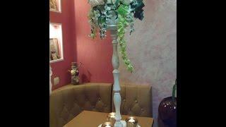 Свадебные стойки на столы гостей