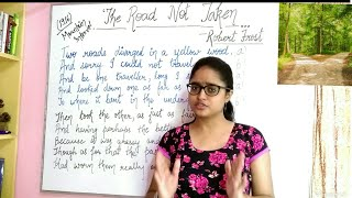The road not taken by Robert Frost || explained in Hindi ||