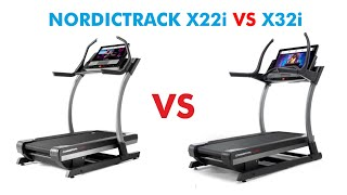 Nordictrack X22i vs X32i Incline Trainer Comparison - Which is Better For You