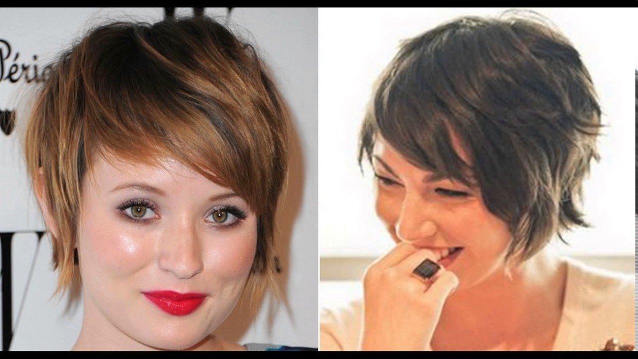 Short Pixie Haircuts For Thick Wavy Hair Youtube