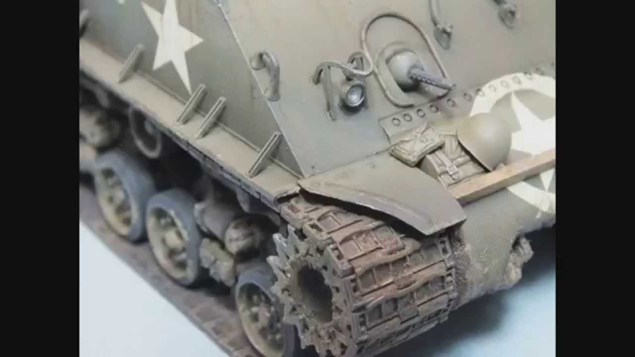 Tamiya : M4A3E8 Sherman : 1/35 Scale Model : Step By Step Video Build :  Episode 16 Final