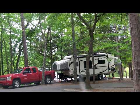 Andrew Jackson State Park, SC- Tour Of RV And Camping Area