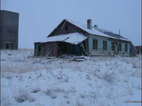 Города призраки! Заброшенная бывшая ВЧ, поселок Скорбеевка, Мурманская область