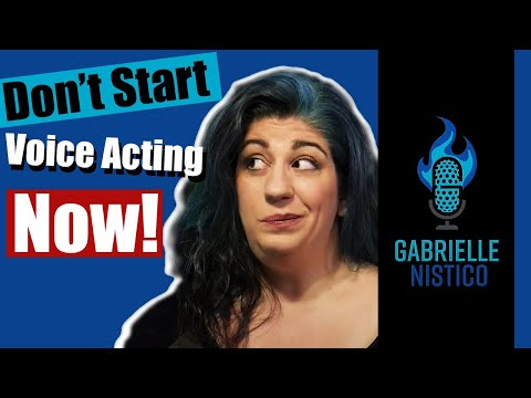 Why this is the WORST time to become a Voiceover Actor!