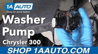 How to Replace Washer Pump 05-10 Chrysler 300