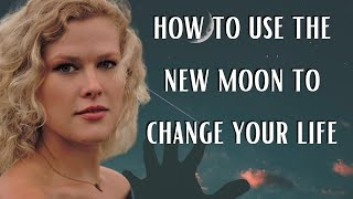New Moon Rituals & Crystals for Manifestation | How to use the New Moon to change your life