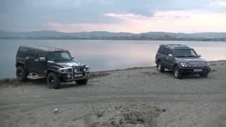 Тест шин по песку. Goodyear Wrangler Duratrac и Simex Jungle Trekker 2. Играем с давлением(, 2016-06-13T03:15:25.000Z)