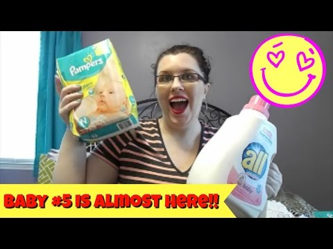 Babies R Us Haul! | 36 Weeks Pregnant! | Home Birth