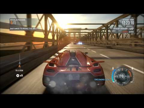 Need For Speed The Run ASTON MARTIN One-77 vs Koenigsegg Agear R