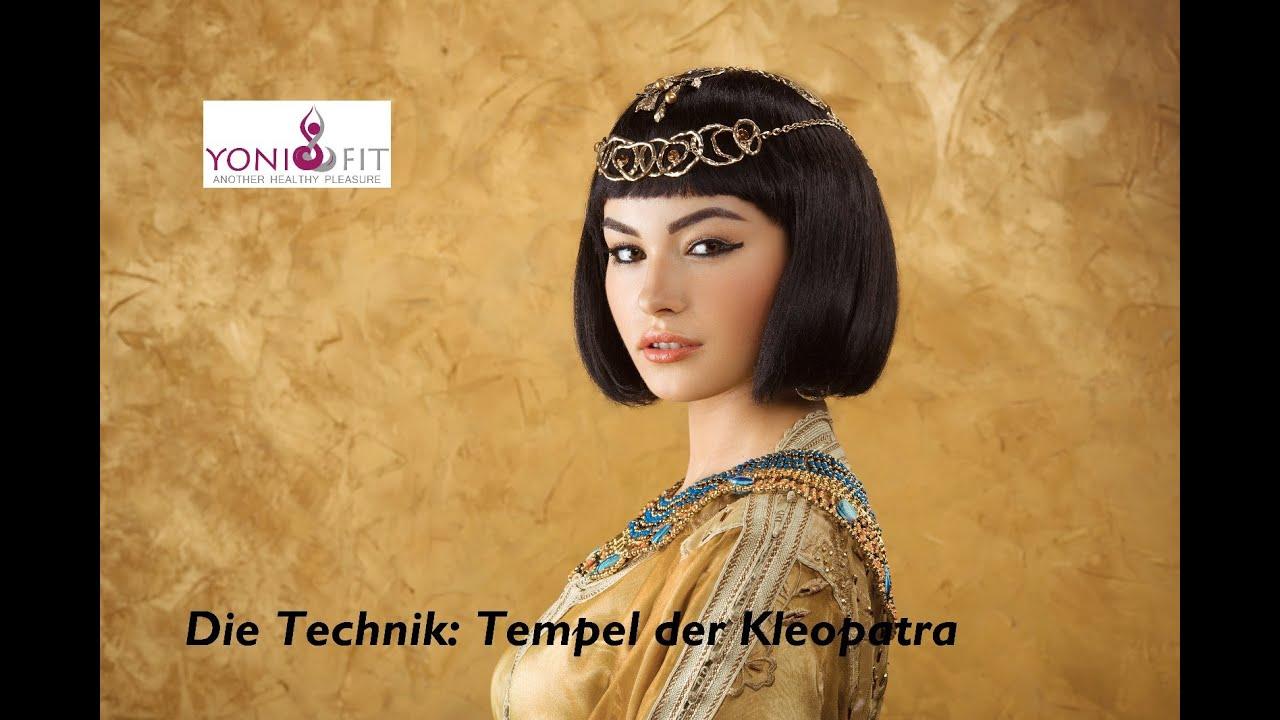 Wunderschöne Blowjob Technik: Tempel der Kleopatra
