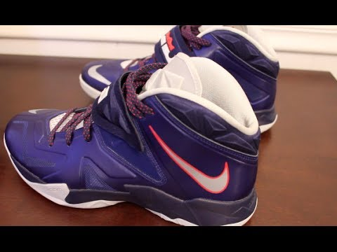 b60d5d72b97d Nike LeBron Zoom Soldier VII On Feet Sneaker Review - YouTube