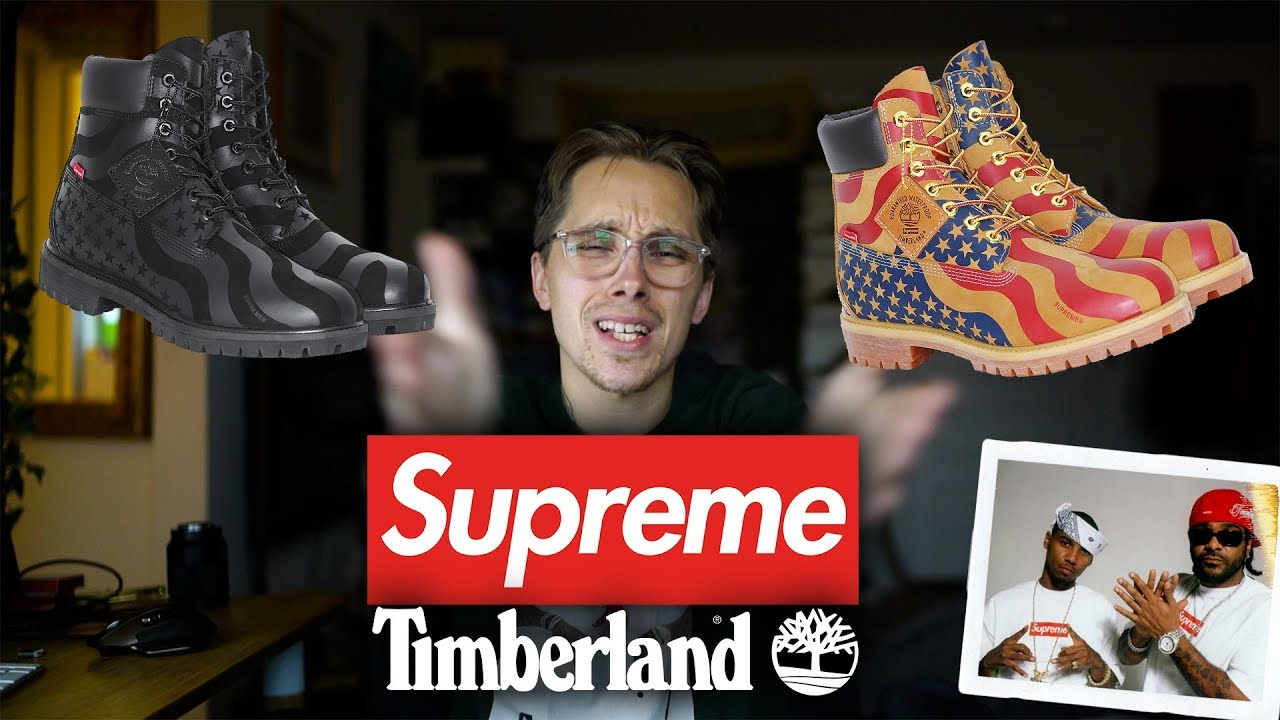b097df3513fa Supreme x Timberland Collab Opinions + Not Good - YouTube