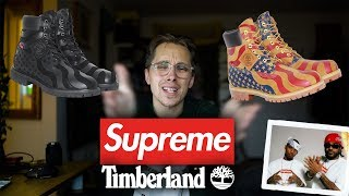Supreme x Timberland Collab Opinions + Not Good
