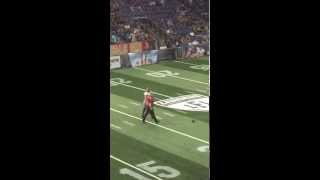 lfl halftime show gone wrong 7 23 15