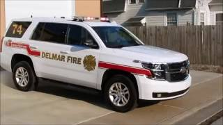Delmar Fire Dept NEW Command 74