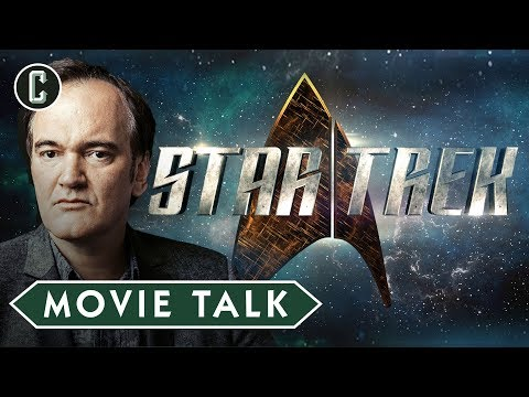 Quentin Tarantino Developing New Star Trek Movie  Movie Talk