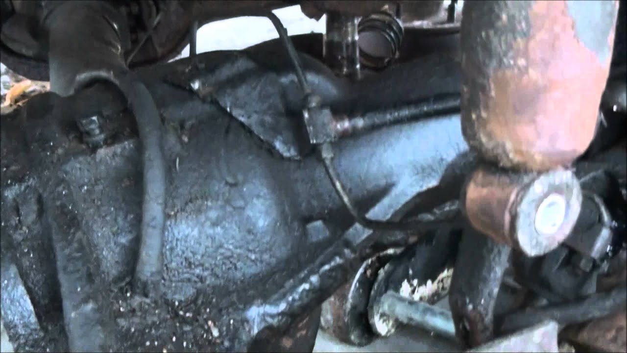 1978 ford f150 4x4 front axle removal dana 44 how to  [ 1280 x 720 Pixel ]