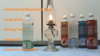 Oil Lamps, Oil Candles, Lamp Oils, How to and Safety