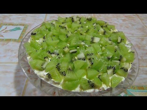 Салат Изумрудная россыпь. Salad Emerald placer.