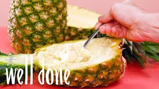 How To Make Pineapple Soft Serve | Recipe | Well Done