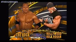 WWE Wrestlemania 18 Official And Full Match Card HD (Old Section Gold)