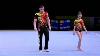 Акробатика чемпионат мира 2018