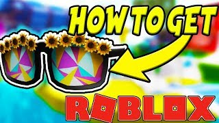 How To Get Sunflower Sunglasses In Roblox Summer Tournament Event 2018 - Doom Wall 2