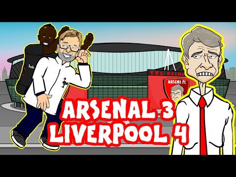 Arsenal vs Liverpool in UNDER 60 SECONDS! 3-4 (ALL GOALS + Highlights 2016)