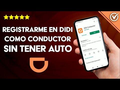Cómo Registrarme en DiDi como Usuario, Conductor o Repartidor sin Tener Auto