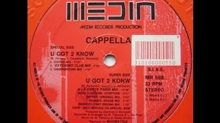 Cappella - U got 2 know (Coffee mix) |Discoteca Plató Córdoba| 1993