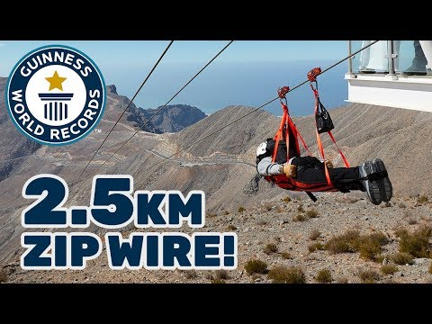 Longest zip wire – Guinness World Records